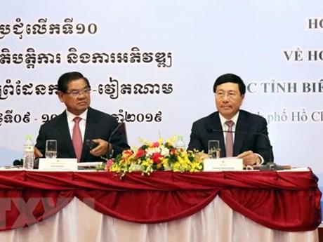 Vietnam, Cambodia commit to building peaceful border