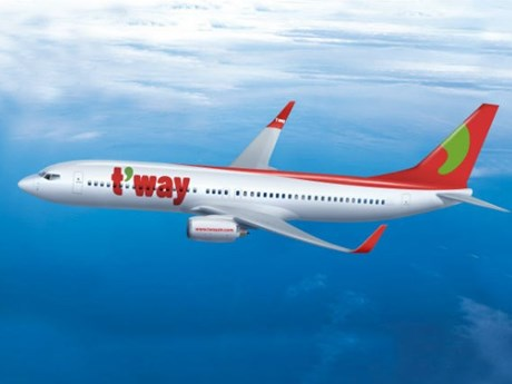 RoK's budget carrier T'way Air to launch Incheon-Nha Trang route