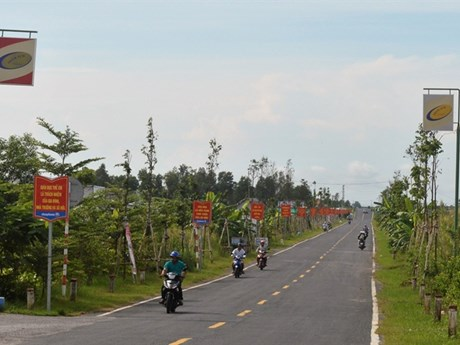Kien Giang has another new-style rural commune