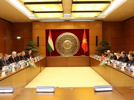 Vietnamese, Hungarian parliaments foster partnership