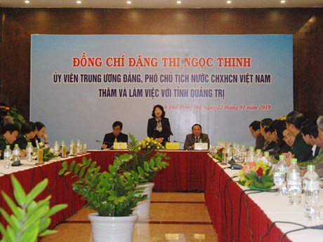 Quang Tri records economic growth of 7.12 percent in 2018