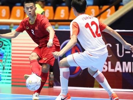 Vietnam enter quarter-finals of AFC U-20 futsal champs