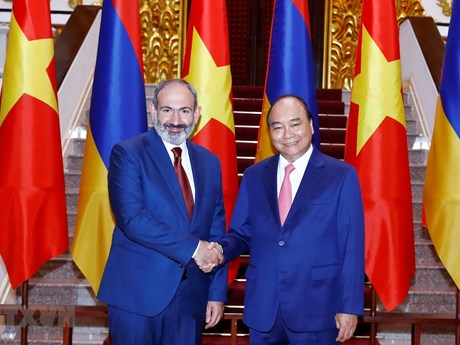 Armenian PM concludes official visit to Vietnam