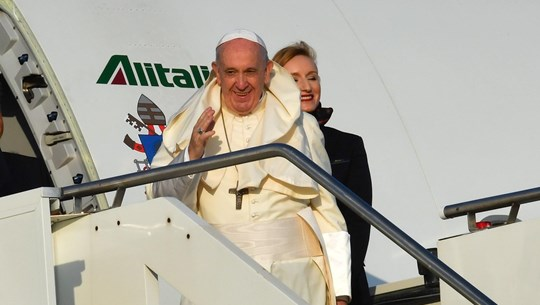 Thailand tightens security for Pope Francis's visit