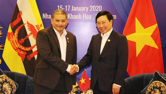 Vietnam, Brunei agree to push comprehensive partnership