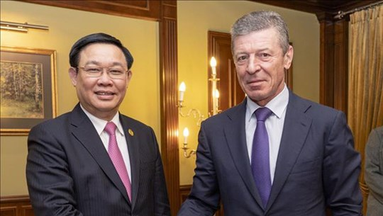 Russia supports businesses in cooperation with Vietnam
