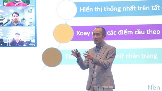 Vietnamese-developed online meeting platform debuts