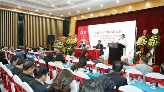 Hanoi's Vietnam-Bulgaria Friendship Association established