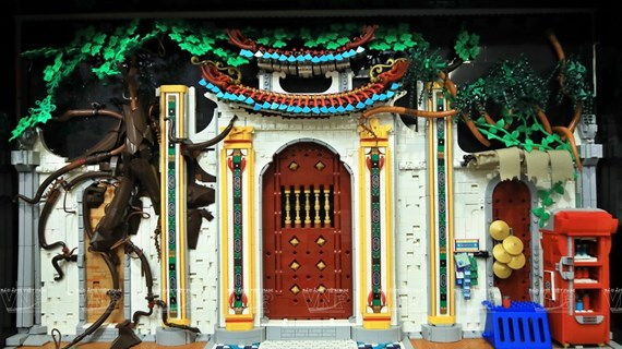 Vietnamese culture brought to life by Lego bricks
