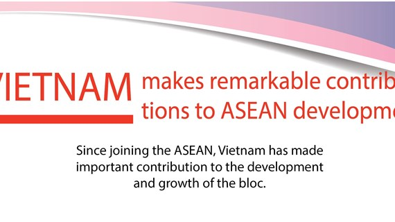 Vietnam makes remarkable contribution to ASEAN development