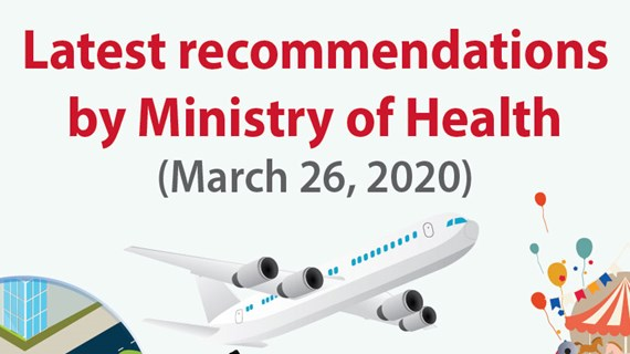 Latest recommendation by Ministry of Health
