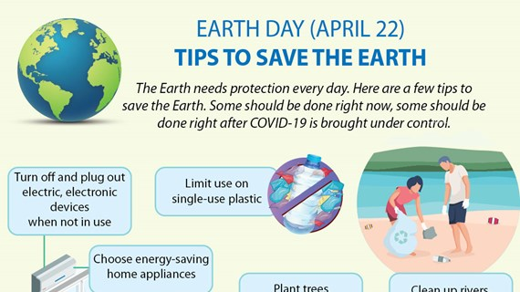 Tips to save the Earth