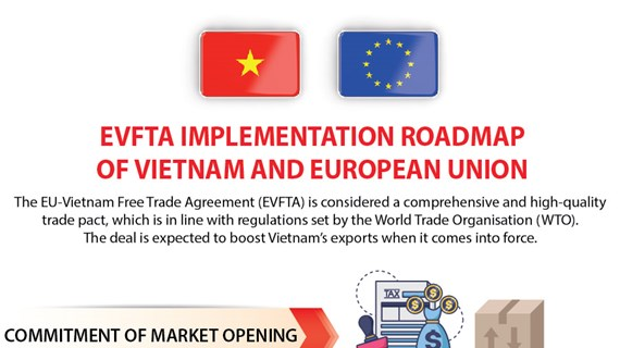 EVFTA implementation roadmap of Vietnam and European Union