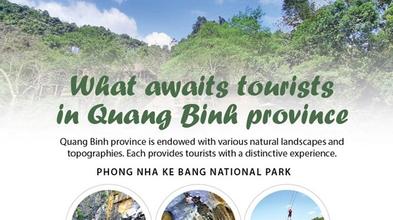 What awaits tourists in Quang Binh province