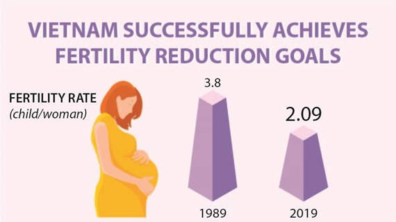 Vietnam successfully achieves fertility reduction goals