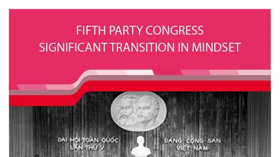 Fifth Party Congress: Significant transition in mindset