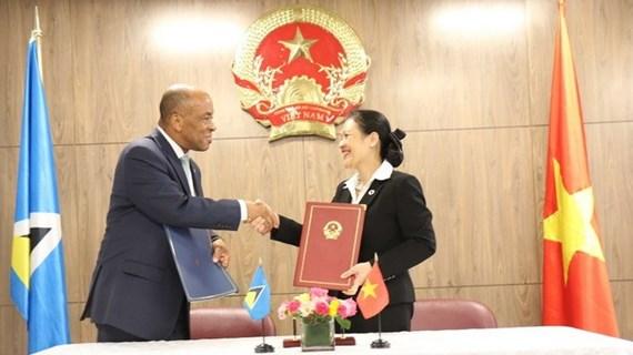 Vietnam, Saint Lucia set up diplomatic ties
