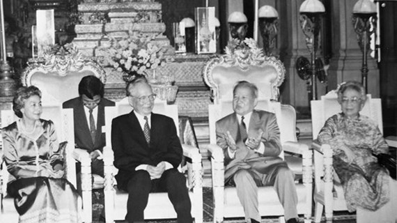 Foreign leaders extend condolences over death of former President