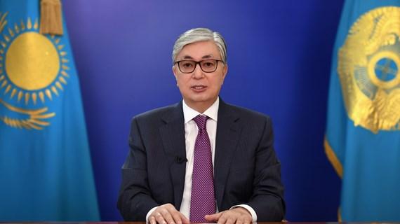 Congratulations to President of Kazakhstan