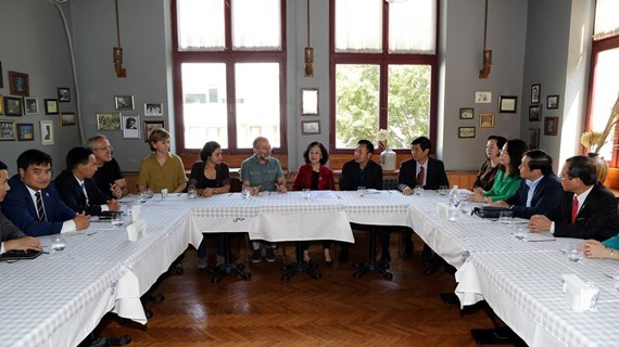 Party delegation visits Turkey to boost bilateral ties