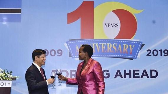 Vietnam, Botswana celebrate 10-year diplomatic relations
