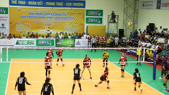 Vinh Long Television Cup int'l volleyball tournament kicks off