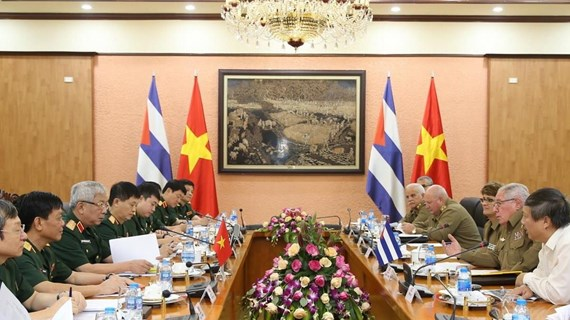 Vietnam, Cuba hold third defence policy dialogue