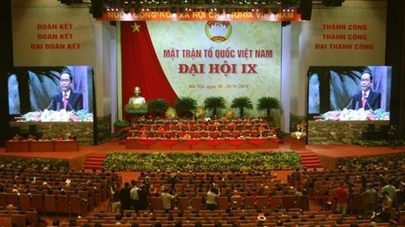 9th National Congress of Vietnam Fatherland Front opens