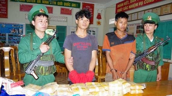 Quang Binh: biggest trans-border drug trafficking ring busted