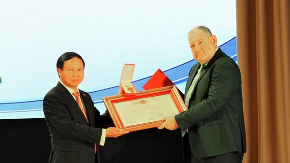Vietnam presents Friendship Order to Pyatigorsk State University