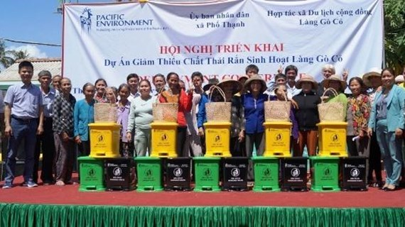 """""""Village without waste"""" project implemented in Quang Ngai"""