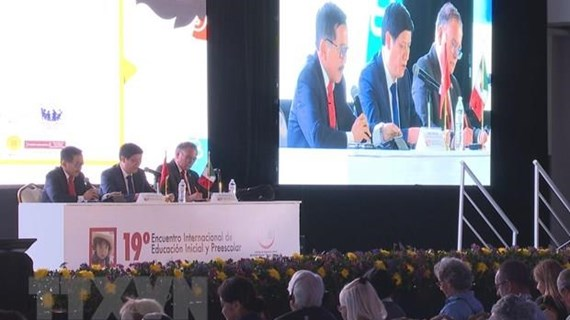 Vietnam attends int'l meeting on preschool education in Mexico