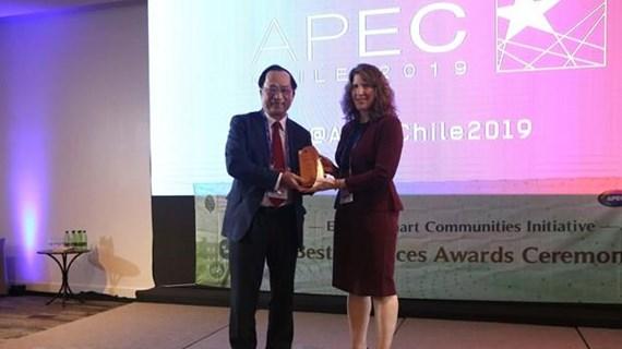 Vietnamese honoured at ESCI Best Practices Awards Programme