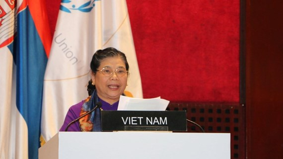 NA Vice Chairwoman suggests ways to promote respect for int'l law