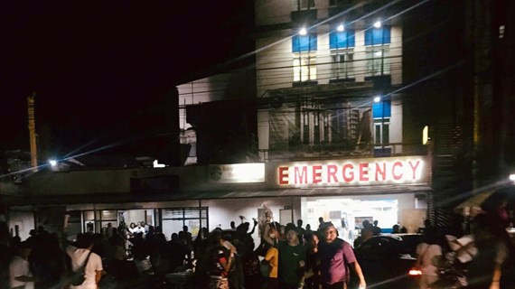 At least three people killed in earthquake in southern Philippines