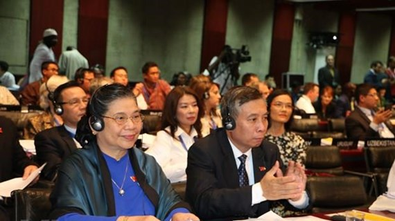 NA Vice Chairwoman attends IPU-141's closing ceremony