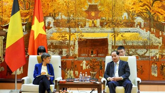 Hanoi, Belgian province boost cooperation