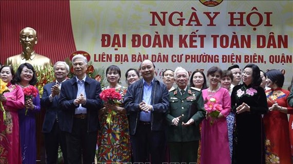 PM attends great national unity festival in Hanoi