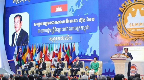 Vietnam attends Asia-Pacific Summit 2019 in Cambodia