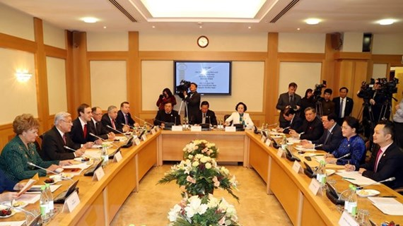 Top legislator meets Chairman of Tatarstan's State Council