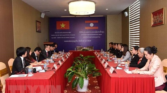 Vietnamese, Lao news agencies forge cooperation