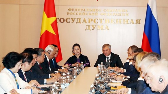 Vietnam a reliable partner of Russia: State Duma Chairman