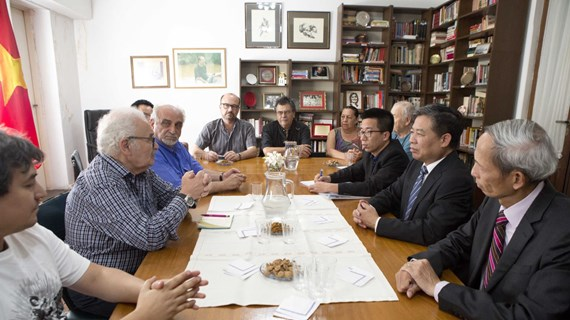 Vietnamese Party delegation visits Uruguay, Argentina