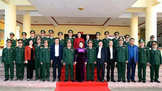 NA Chairwoman visits Dak Lak provincial Military High Command