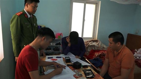 Man with over 720 synthetic drug pills arrested in Quang Binh