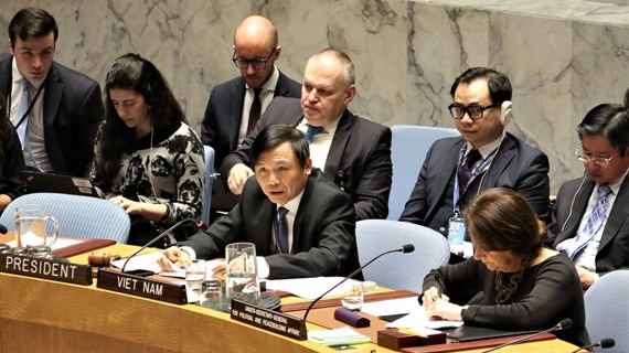 Vietnam chairs UNSC open debate on Middle East situation