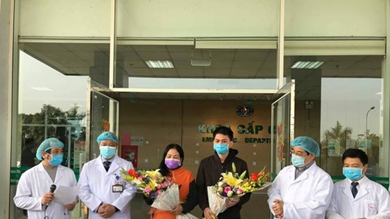 Two more COVID-19 patients discharged from Hanoi hospital