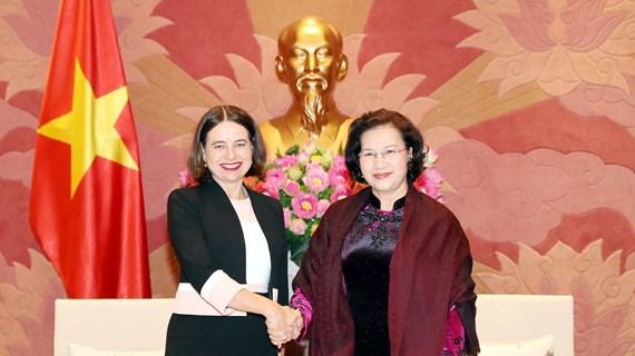 New Australian ambassador asked to foster exchange of delegations