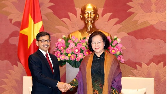 NA Chairwoman receives Indian Ambassador