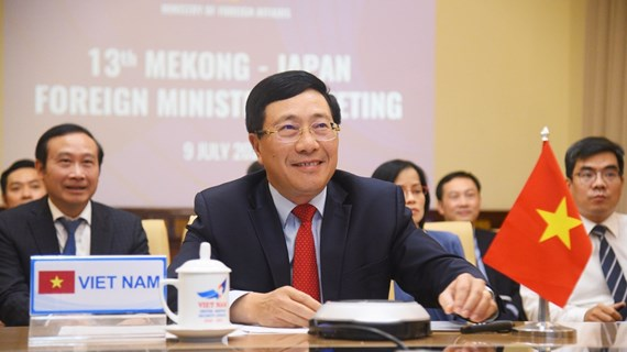 Mekong - Japan Ministerial Conference discusses COVID-19 response